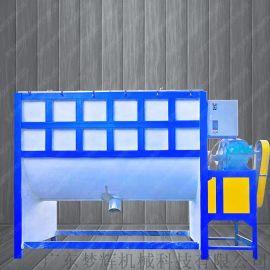 卧式拌料机 广西发酵肥料搅拌机 合理设计 质量保证