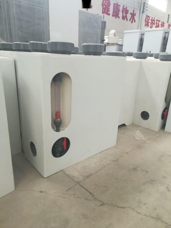 缓释消毒器工艺流程/水厂消毒加氯片设备