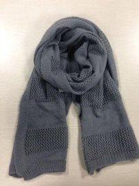 欧**式镂空花针织围巾