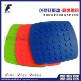 硅胶厨房新品餐桌垫/方形厨房碗垫杯垫/防滑耐高低温硅胶垫