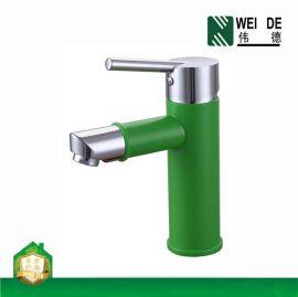 伟徳 BF-G3701 ABS塑料面盆龙头 浴室柜冷热混水龙头洗脸盆水龙头批发