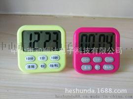 740多功能厨房定时器10秒电子计时器 10分钟定时器1分钟计时器