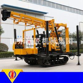 XYX-200型轮式钻井机 小型液压水井钻机 小型农用打井机