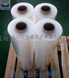 工厂直销PE缠绕膜手工拉伸膜包装膜宽50cm透明打包膜