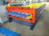 现货供应实心轴双层压瓦机设备彩钢瓦设备 压瓦机设备保修一年