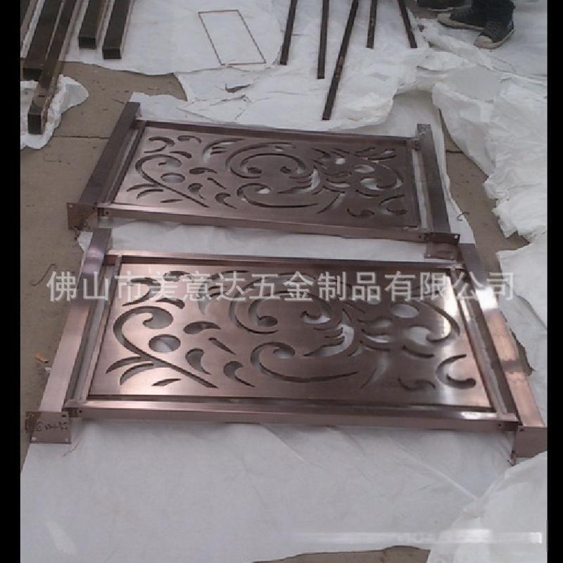 金属不锈钢护栏 酒店不锈钢护栏定做 异形护栏