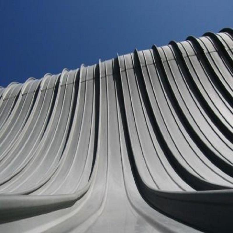 异性屋面铝镁锰板 机场航站楼铝镁锰板