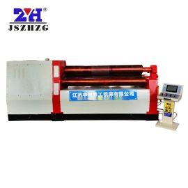 数控全自动W12四辊卷板机 液压数控四辊液压卷板机