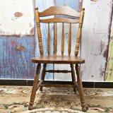 胡桃里餐厅繁花酒吧主题餐厅实木餐椅复古做旧温莎椅 可定制