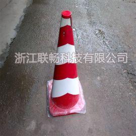 供应厂家直销道路交通施工路障设施椎桶雪糕筒反光PVC塑料路锥标