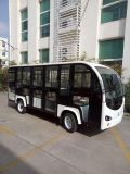 14座電動觀光車帶門加裝轉向助力價格