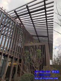 山南铝方通 90x23铝方通 外墙氟碳铝型材 铝合金方管型材规格