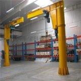 1吨电动旋转悬臂吊 仓库车间装卸货单臂起重机