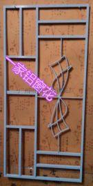 无缝焊接02款一帆风顺铝合金窗花厂家