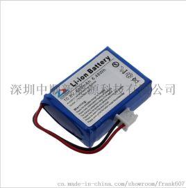 中顺芯11.1V h监控器验钞机聚合物锂电池组