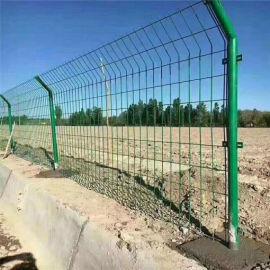 高速公路护栏网 圈地果园浸塑铁丝围栏网 厂家直销