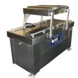新款滚动式大型工厂鸡肉品食品真空包装机