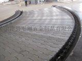 不鏽鋼網帶 不鏽鋼鏈板輸送鏈板寧津軍翔輸送設備研發