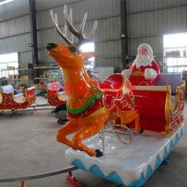 神童圣诞火车 全新圣诞老人造型轨道小火车