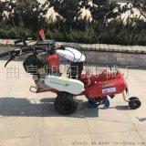 多功能田园管理机柴油电启动开沟培土机自走式封葱机