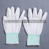 PU塗指手套 白色尼龍塗指手套 無塵手套作業手套