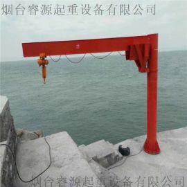 电动定柱式悬臂吊3T/单臂旋转吊,移动式悬臂吊