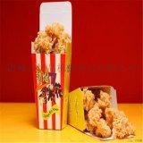 鸡米花滚筒上粉机 会展供应鸡米花油炸机