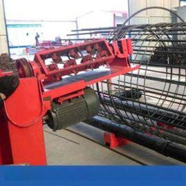 陕西钢筋笼绕筋机钢筋笼成型机绕筋速度可调