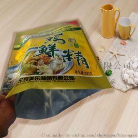 潍坊宏康三边封食品包装袋调味料复合镀铝包装袋定制