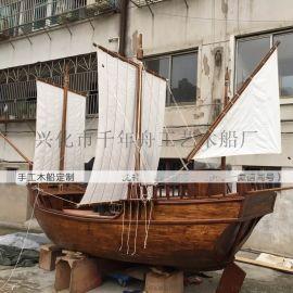 仿古船模型1米-3米景观船厂家定做