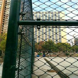 安平体育场围栏网 学校围栏钢丝网 篮球场围栏勾花网