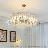 美式吊灯 法式水晶树杈设计师树枝北欧简约餐厅灯具吊灯具