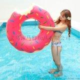 廠家直銷PVC充氣游泳圈成人兒童水上教具救生游泳圈