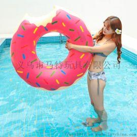 廠家直銷PVC充氣遊泳圈成人兒童水上教具救生遊泳圈
