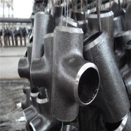 湖南Q235-16mm无缝等径三通国标定制加工