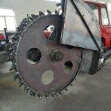 聊城厂家 改装圆盘开沟机 拖拉机水泥面开沟机 路牙子刨沟机