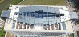电动天窗 采光换气电动屋顶 平移升降玻璃屋顶