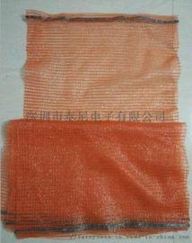 水果蔬菜包装网眼袋,PE针织网眼袋,拉歇尔袋网眼袋