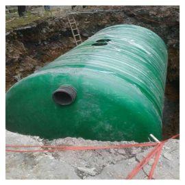 埋地 化粪池 江西玻璃钢二格 隔油池