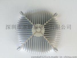 厂家直供太阳花铝散热片 cpu散热片