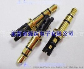 3.5三声道耳机插针,3.5*4.5*24.5四级插头,耳机插头