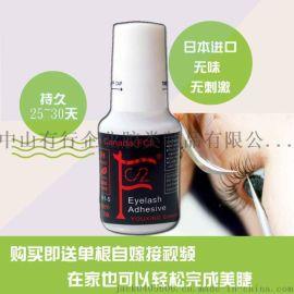 广东FC2日本进口原料孕妇睁眼无刺激持久种植嫁接睫毛胶批发