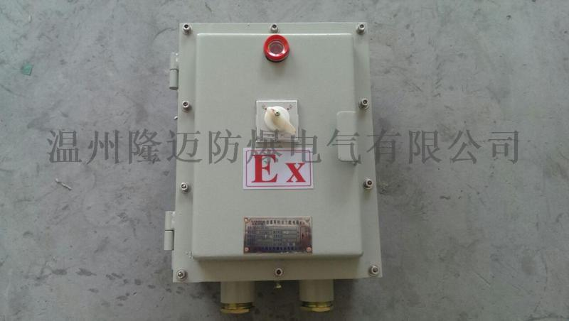 BXK防爆控制箱 水泵防爆控制箱 阀门防爆控制箱