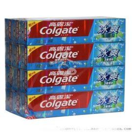 牙膏加工廠 定制英文版高露潔牙膏OEM貼牌