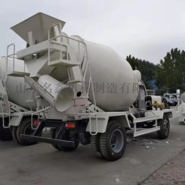 工程混凝土运输车 建筑用搅拌罐车 小型水泥罐车