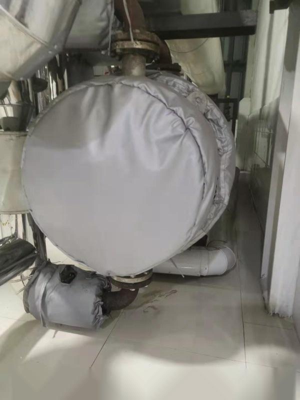 管式换热器可拆卸式保温套