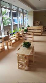 云南昆明幼儿园学生实木家具生产厂家