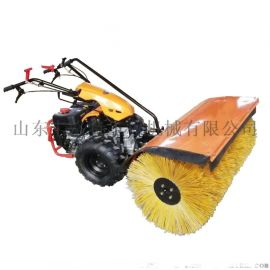 小型扫雪机 手推式汽油扫雪机 鱼塘大棚东北除雪机