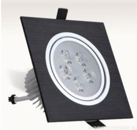led单头方形格栅筒灯筒灯薄款