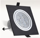 led單頭方形格柵筒燈筒燈薄款